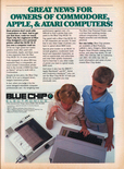 Blue Chip Electronics February 1985 magazine ad