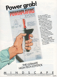 Powerplayers joystick in the Mindscape product catalog