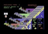Advance to Boardwalk for Commodore 64 - Human player chooses where to build...