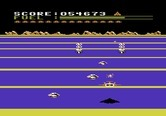 Buck Rogers: Planet of Zoom for Atari 5200 - Second level; saucers attack more rapidly...