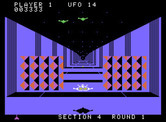 Buck Rogers: Planet of Zoom for ColecoVision - Don't crash into the walls...