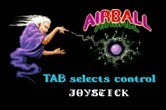 Airball for Apple IIgs - Select input device...