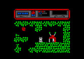 Starquake for Amstrad CPC - Reached a teleporter...
