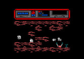 Starquake for Amstrad CPC - Drat, another dead end...