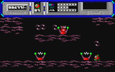 Starquake for Atari ST - Don't get zapped by those electric devices...