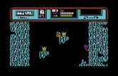 Starquake for Commodore 64 - Don't touch the spikes, they drain energy fast...