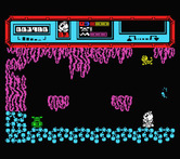 Starquake for MSX - Found something in the corner here...