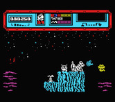 Starquake for MSX - The starting location.