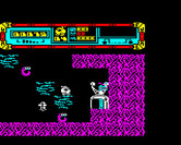 Starquake for BBC Micro - Here's one of the teleporters.
