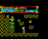 Starquake for BBC Micro - Create temporary platforms to lift up the BLOB.