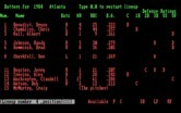 Pro Manager for IBM PC/Compatibles - Allowing the computer to automatically select a lineup...